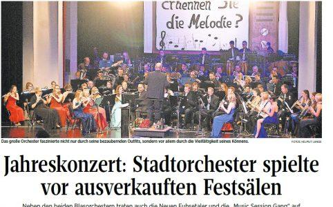 Das große Orchester faszinierte nicht nur durch seine bezaubernden Outfits, sondern vor allem durch die Vielfältigkeit seines Könnens. Quelle: Helmut Lange